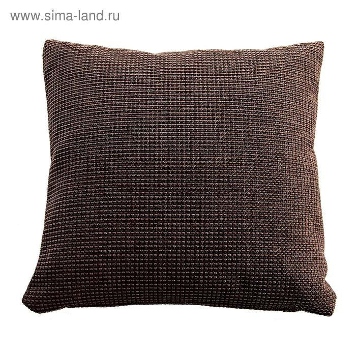 Подушка декоративная DALLAS, 50X50, темно-коричневый