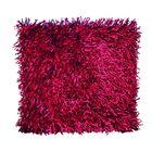 Подушка GOEZZE Langflor-Teppich, 50Х50, цвет красный