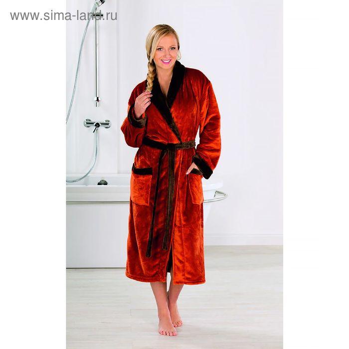 Халат GOEZZE Seiden-Feeling, размер S (44) цвет оранжевый