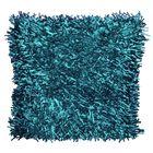 Подушка GOEZZE Langflor-Teppich, 50Х50, цвет синий