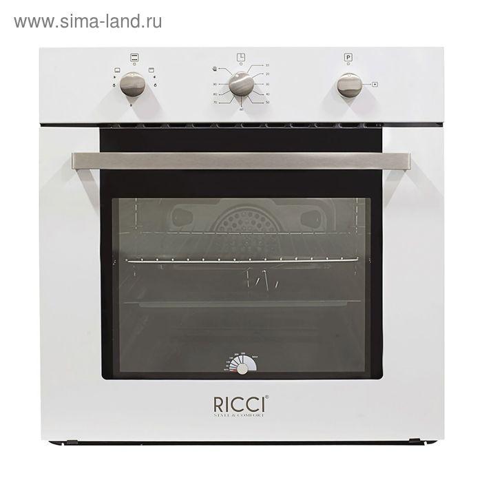 Духовой шкаф Ricci RGO-610WH, белый