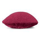 Подушка GOEZZE Schaf Fell-Optik, 40Х40, цвет бордо