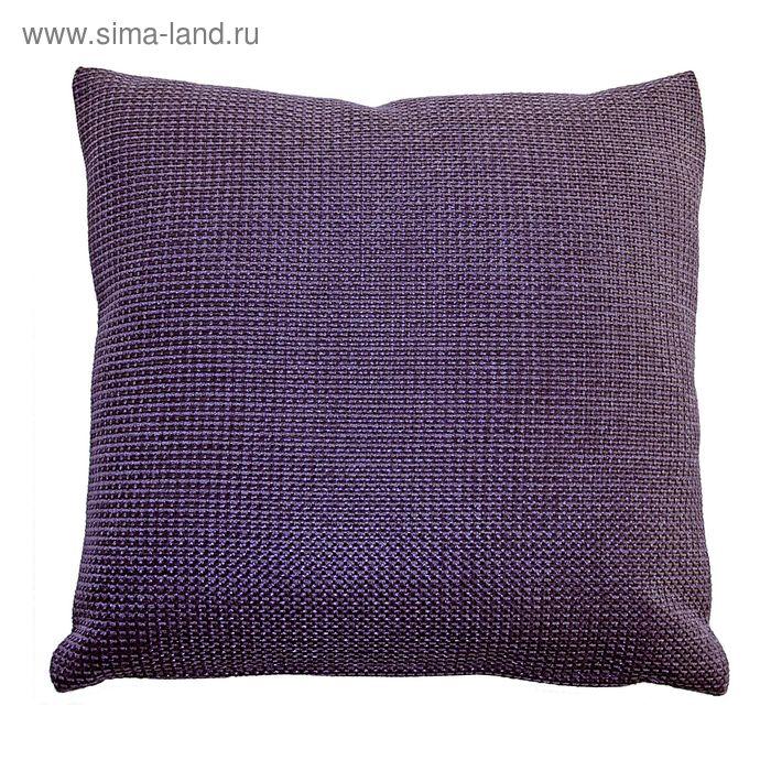 Подушка декоративная DALLAS, 40X40,  цвет сиреневый