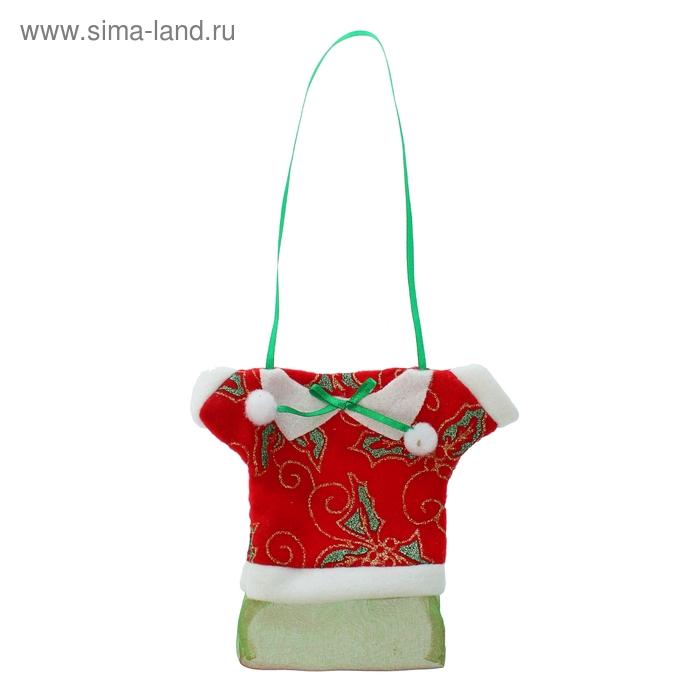 """Мешок для подарков """"Кофта"""", 100 г, цвета МИКС"""