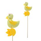 "Soft toy on a stick ""Cock"" with a bow"