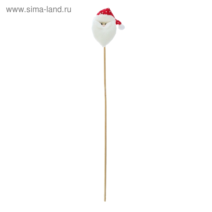 """Мягкая игрушка на палочке """"Новый год"""", топпер, виды МИКС"""