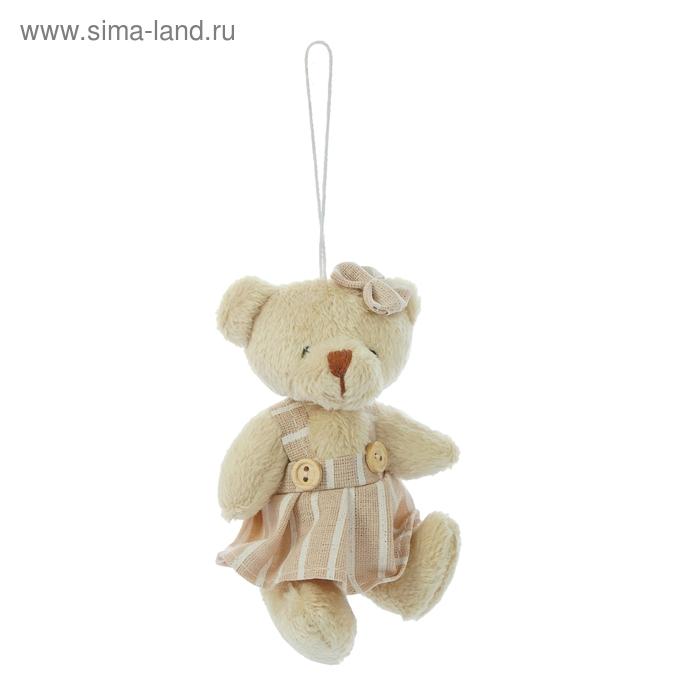 """Мягкая игрушка-подвеска """"Мишка"""", мальчик, девочка, цвета МИКС"""