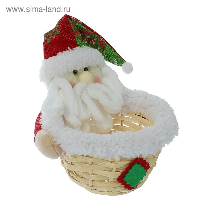 "Конфетница ""Дед Мороз с бородой"", 100 г"
