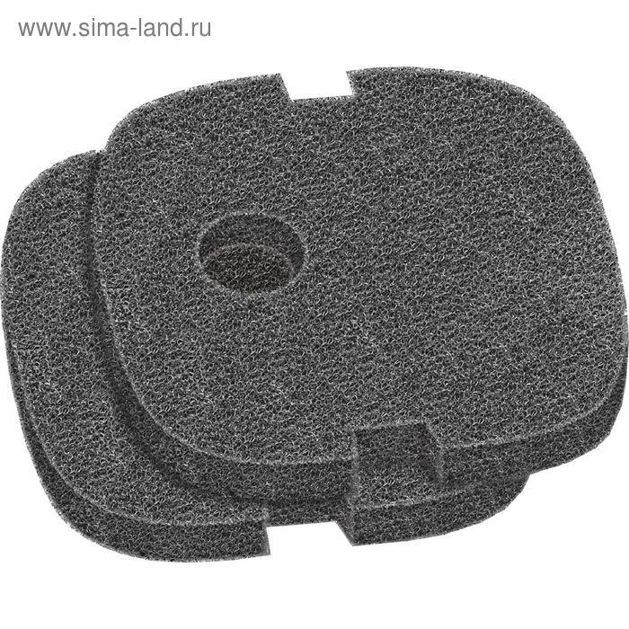 Комплект губок сменных для фильтра черных,250,400 2 шт