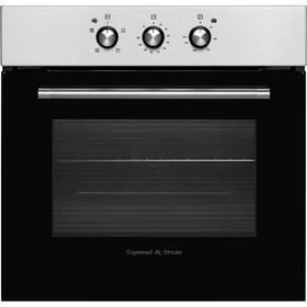 Духовой шкаф Zigmund & Shtain EN 106.511 S, электрический, 56 л, 5 режимов, класс B, чёрный