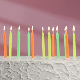 """Набор свечей для торта """" С Днём Рождения"""", классические, 24 штуки - фото 1706301"""