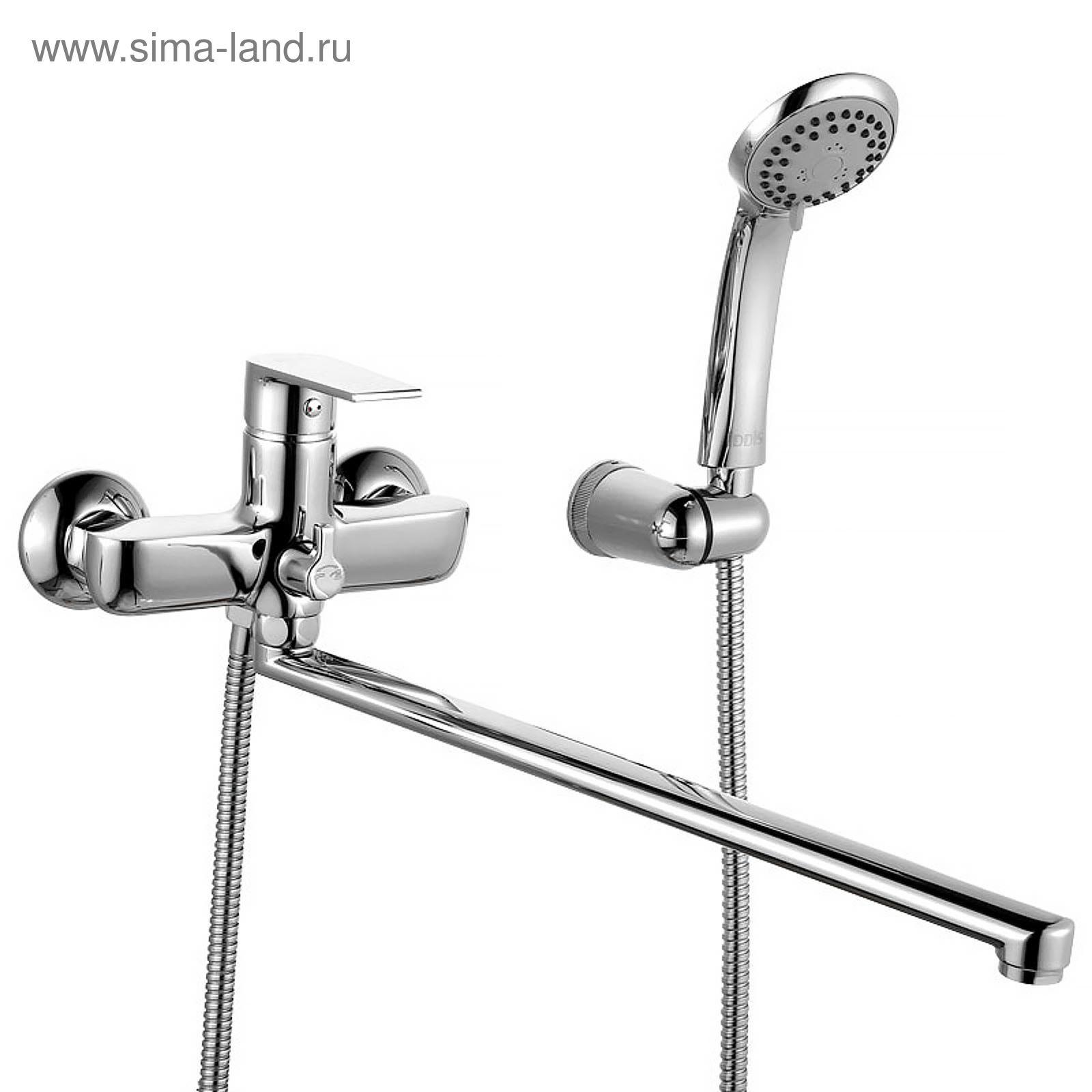 Смесители для ванны с длинным гусаком и душем купить kludi мебель для ванной