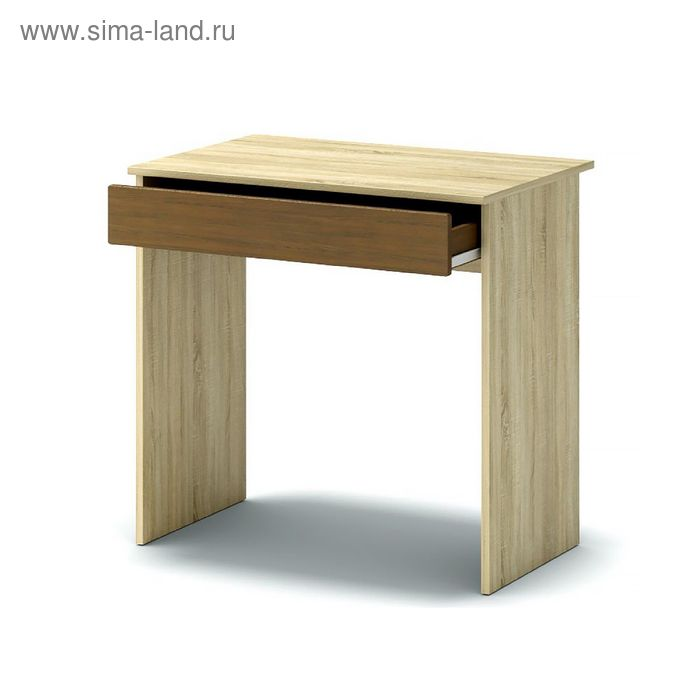 Стол письменный СП-1 760х570х736 дуб сонома/груша монтего