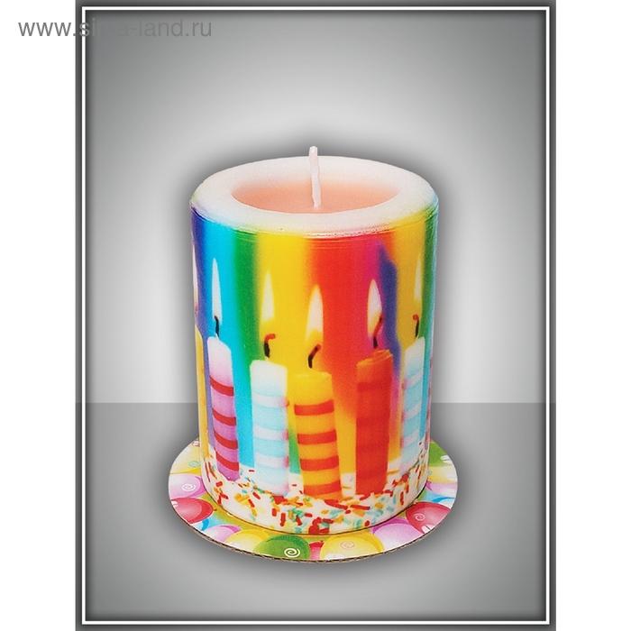 "Свеча-сюрприз ""свечи""  арома ваниль"