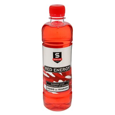 Напиток SportLine Red Energy 2000mg 500ml (Барбарис)