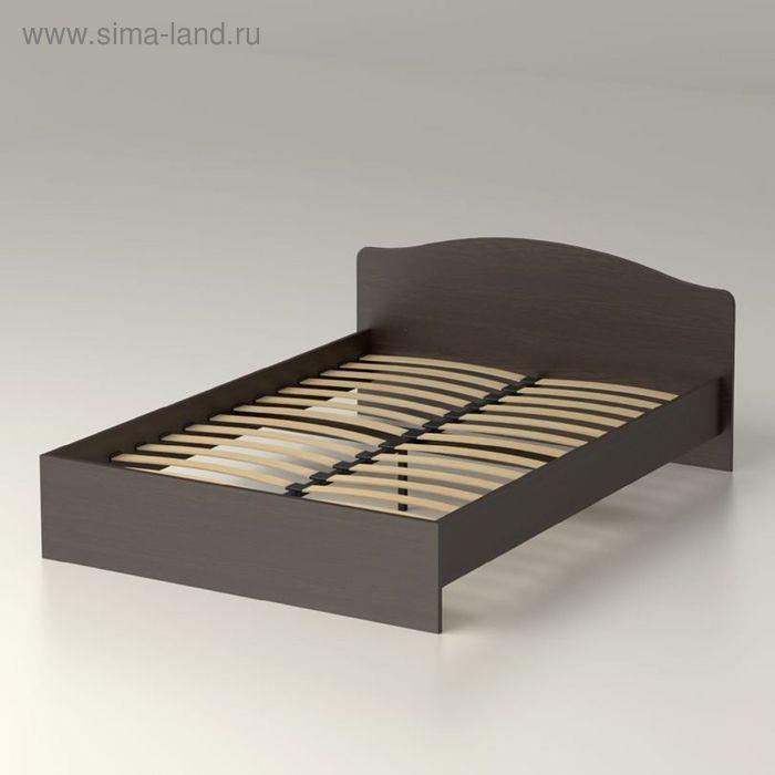 Кровать 140  с орт.основанием   Фея  22   1500х760х2038    венге