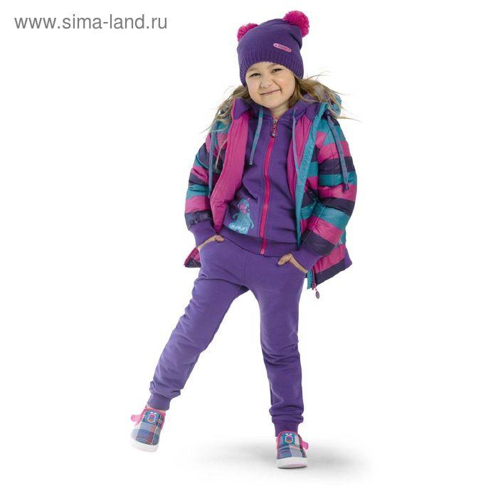Куртка для девочек, 4 года, цвет  морская волна  GZWL3002/1