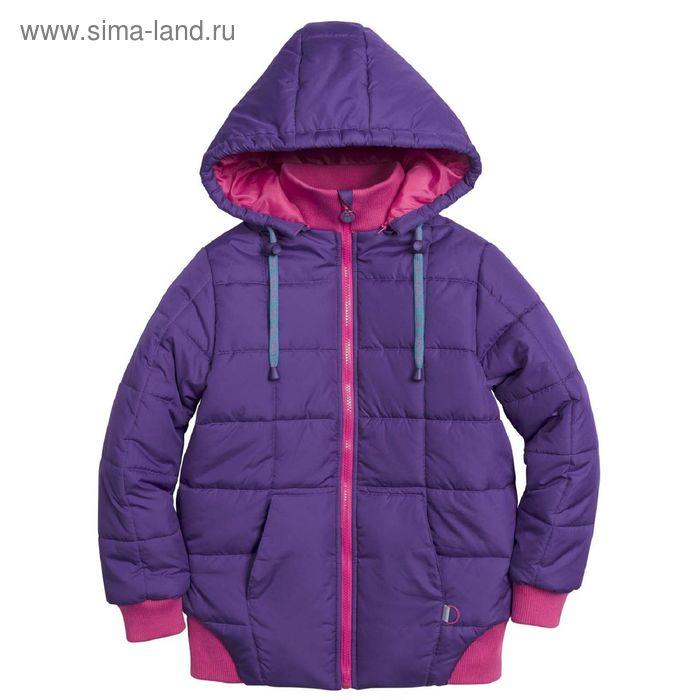 Куртка для девочек, 10 лет, цвет  лиловый  GZWL4002