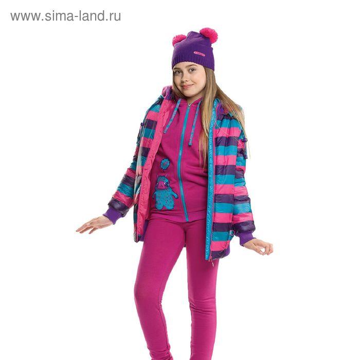 Куртка для девочек, 14 лет, цвет  морская волна GZWL5002/1