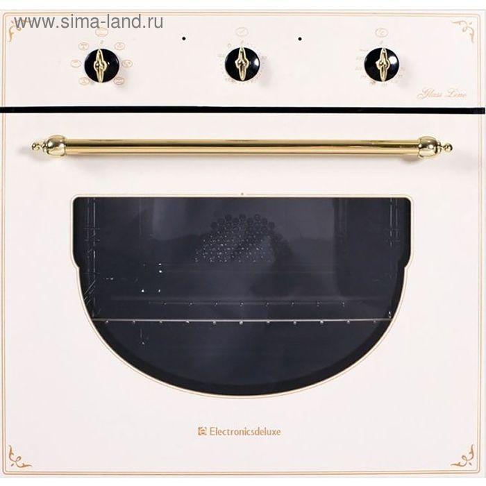 Духовой шкаф Electronicsdeluxe 6006.03 эшв- 001,  топленое молоко