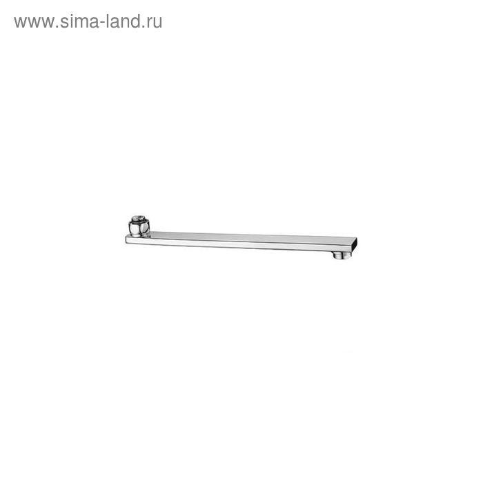 Излив для смесителя IDDIS, T12, плоский, 30 см