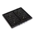 Варочная поверхность Electronicsdeluxe 5840.00 гмв-003, газовая, черная