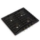 Варочная поверхность Electronicsdeluxe 5840.00 гмв-006 ЧР, газовая, черная