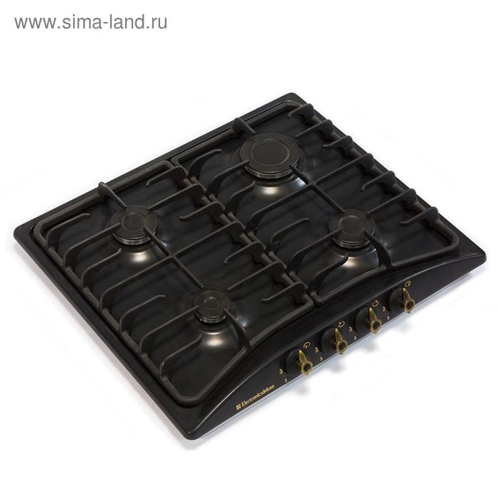 Варочная поверхность Electronicsdeluxe 5840.00 гмв-007 ЧР, черный матовый