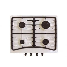 Варочная поверхность Electronicsdeluxe 5840.00 гмв-008 ЧР, газовая, топленое молоко