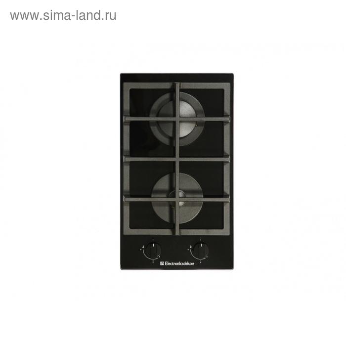 Варочная поверхность Electronicsdeluxe GG2 400215F, стекло черный