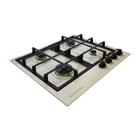 Варочная поверхность Electronicsdeluxe GG4 750229F - 016, газовая, топленое молоко
