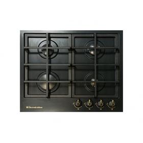 Варочная поверхность Electronicsdeluxe TG4 750231F-025 ЧР, газовая, черная