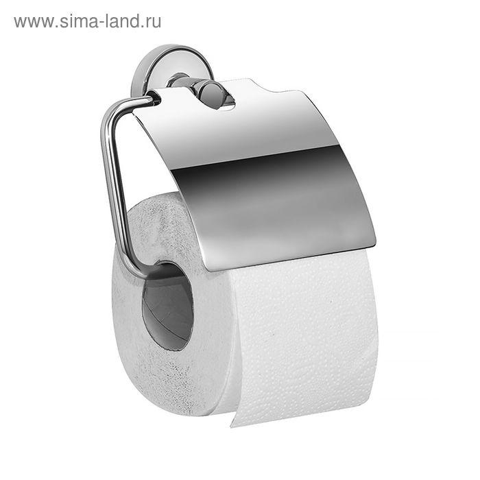 Держатель для туалетной бумаги IDDIS Calipso, CALSBC0i43, с крышкой