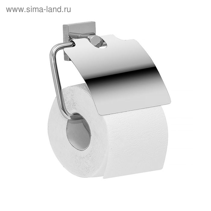 Держатель для туалетной бумаги IDDIS Edifice, EDISBC0i43, с крышкой