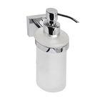Дозатор для жидкого мыла IDDIS Mirro Plus, EDIMBG0i46,  матовое стекло, латунь