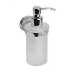 Дозатор для жидкого мыла IDDIS Calipso, CALMBG0i46,  матовое стекло, латунь