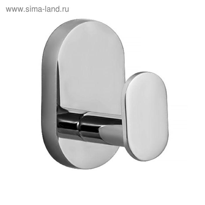 Крючок IDDIS Mirro Plus, MRPSB10i41, одинарный, латунь