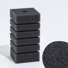 Губка прямоугольная для фильтра турбо №3, 12х6х6 см