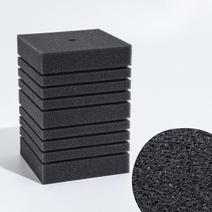 Губка прямоугольная запасная для фильтра турбо №17, 20х14х14 см