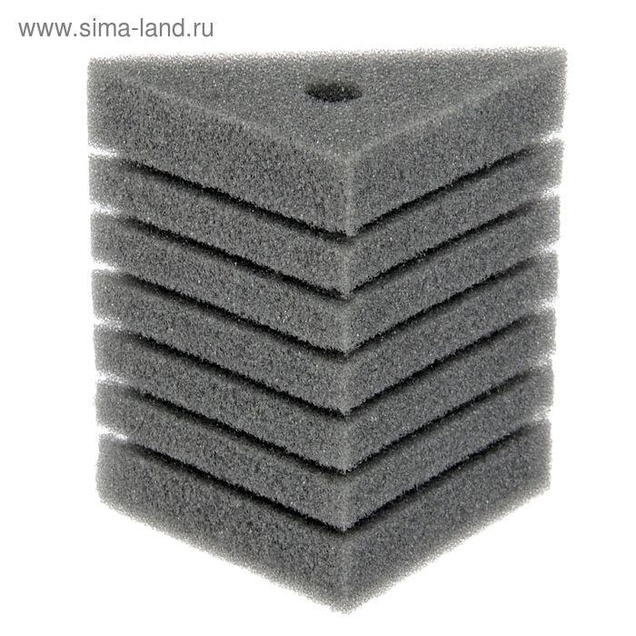 Губка треугольная запасная для фильтра турбо №26, 10х10х14х14 см