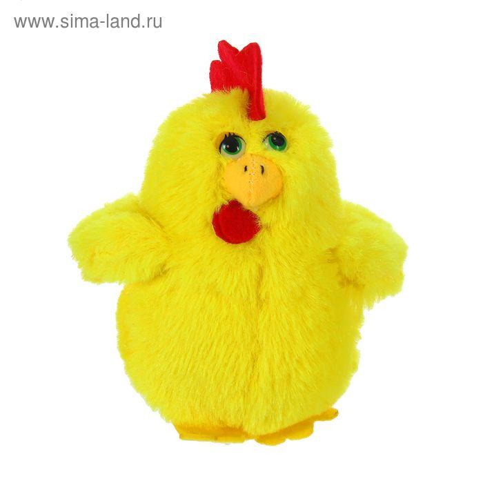 """Мягкая игрушка """"Цыпленок"""" красный хохолок, цвета МИКС"""