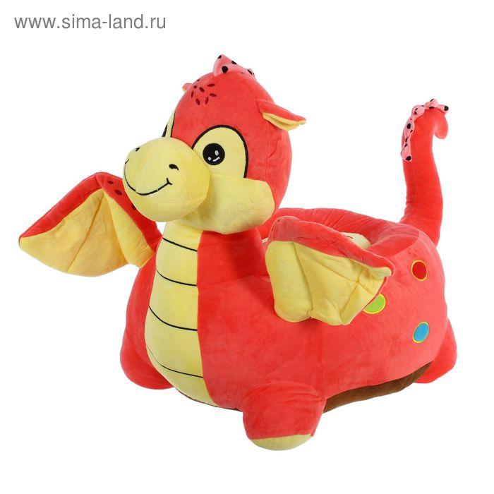 """Мягкая игрушка-кресло """"Динозаврик с крылышками"""""""