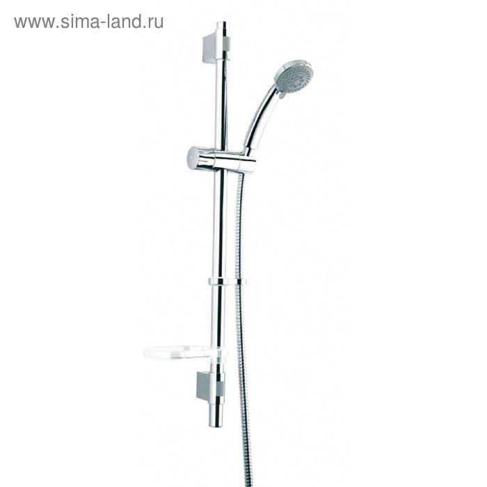 Душевой гарнитур IDDIS TSH1501, лейка 3 режима, шланг 1,5 м, 656 мм