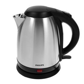 Чайник электрический Philips HD9306/02, металл, 1.5 л, 1800 Вт, серебристый