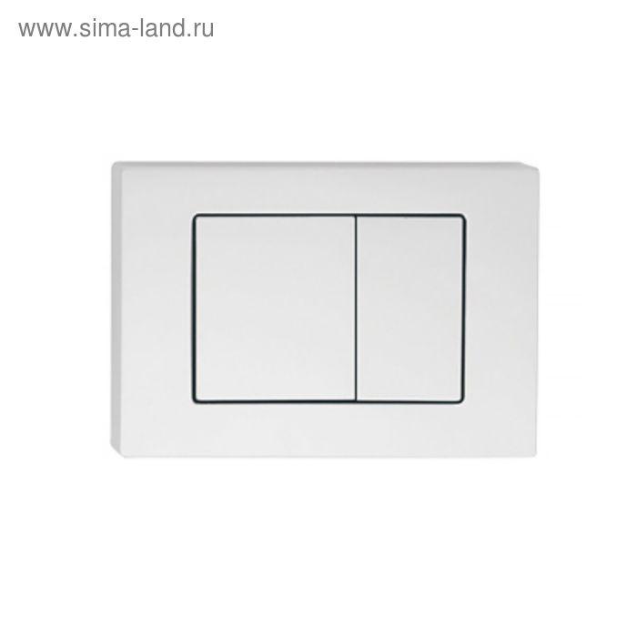 Клавиша смыва IDDIS Unifix, UNI32MWi77, универсальная, цвет матовый белый