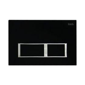 Клавиша смыва IDDIS Unifix, UNI61MBi77, универсальная, цвет матовый черный Ош