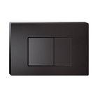 Клавиша смыва IDDIS Unifix, UNI31MBi77, универсальная, цвет матовый черный