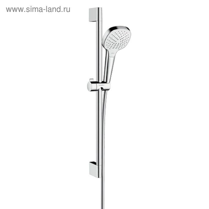 Душевой гарнитур Hansgrohe Croma Select E Vario со штангой 65 см