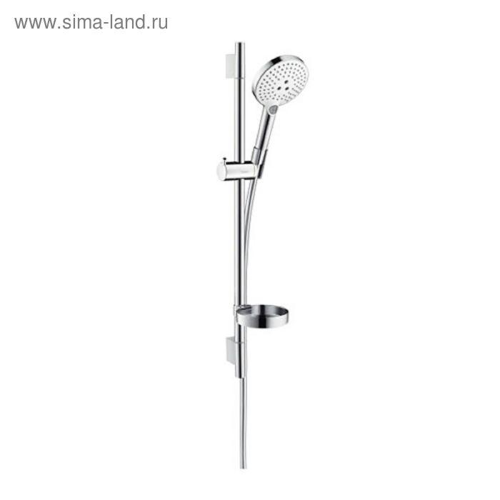 Душевой гарнитур Hansgrohe Raindance Select 120 Unica Set, со штангой 65 см