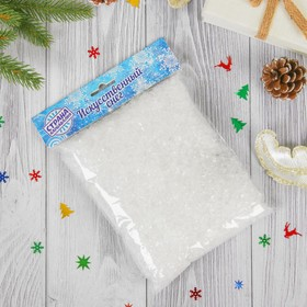 Artificial snow, 100 gr, transparent